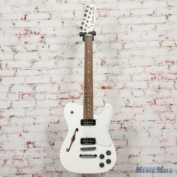 Fender Jim Adkins JA-90 Telecaster® Thinline, Laurel Fingerboard, White x1080