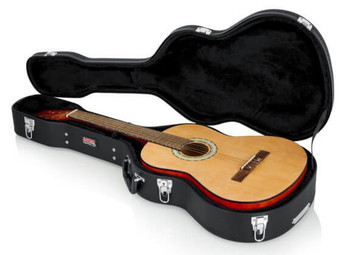 Gator Classical Guitar Case Hard-Shell Wood Case for Classical Guitars