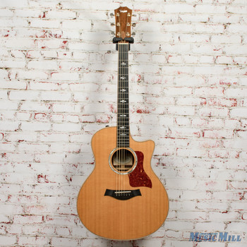 Taylor 816ce Grand Symphony Acoustic Electric Guitar Natural x2066 (USED)