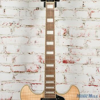 Ibanez AS73FM Hollowbody Electric Guitar - Transparent Autumn Fade x2180