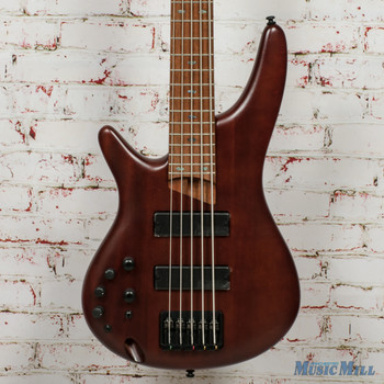Ibanez SR Standard 5-String Electric Bass - LH, Brown Mahogany