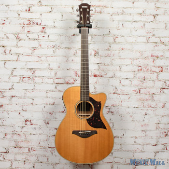 Yamaha AC1m Small Body Acoustic Guitar Vintage Natural x0041