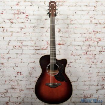 Yamaha AC1M-TBS Acoustic Electric Guitar Mahogany Tobacco Brown Sunburst x0132