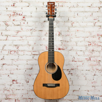 Austin AU386S Parlor Acoustic Guitar Natural x6459 (USED)