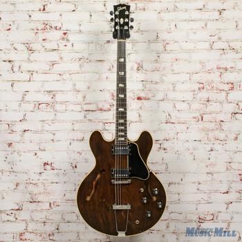 1970-71 Gibson ES-335 Dark Walnut Refret w/OHSC (USED)