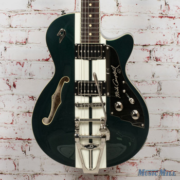 Duesenberg Alliance Mike Campbell 40th Anniversary Catalina Green and White