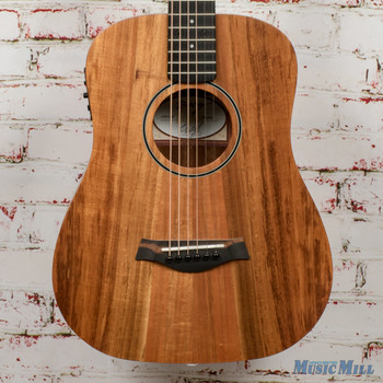 2016 Taylor BTe-Koa Baby Taylor Acoustic-Electric Guitar, Koa x6386 (USED)