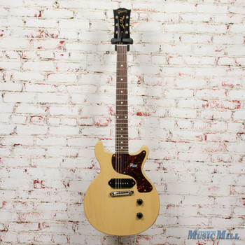 Gibson Custom '58 Les Paul Junior Double Cut Reissue TV Yellow 881361 + FREE HOODED SWEATSHIRT