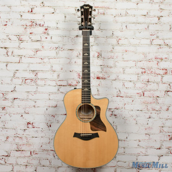2015 Taylor 616ce Grand Symphony Acoustic Electric Guitar Natural x5063 (USED)