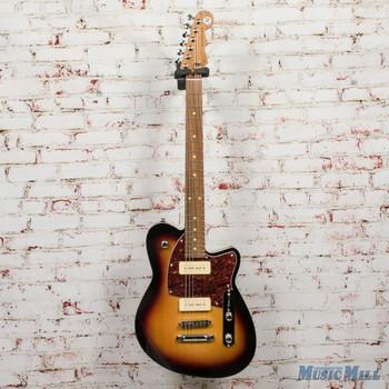 Reverend Charger 290 Electric Guitar 3-Tone Sunburst x8010