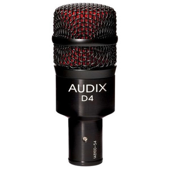 Audix D4 Dynamic Drum and Instrument Microphone
