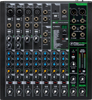 Mackie ProFX10v3 10-channel Mixer with USB and Effects