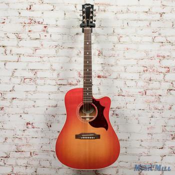 Gibson Songwriter Modern EC Mahogany Light Cherry Sunburst - NAMM 2020 Demo x9022
