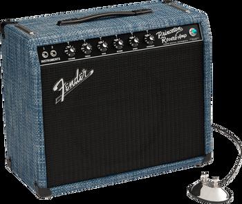 Fender 2020 Limited Edition Princeton Reverb, Celestion Alnico Blue, Chilewich  Denim