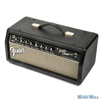 Fender Super Champ X2 15 Watt Tube Guitar Amplifier Head x8359 (USED)