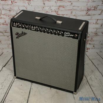"""Fender '65 Super Reverb Reissue 45-Watt 4x10"""" Guitar Combo Amp x4322 (USED)"""