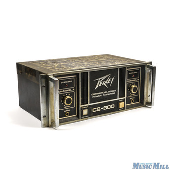 Peavey CS 800 Stereo Power Amplifier x5587 (USED)