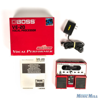 Boss VE-20 Vocal Effects Processor x3211 (USED)