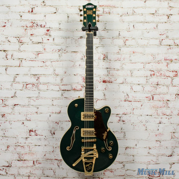 2016 Gretsch G6659TG-CDG Players Edition Broadkaster - Cadillac Green x3806 (USED)