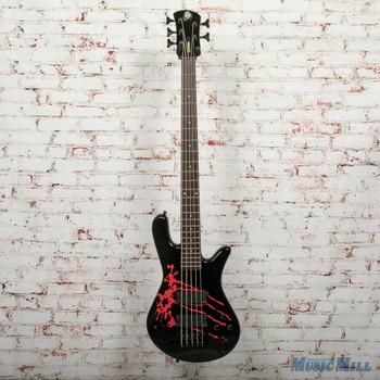 Spector Legend 5 Artist Series Alex Webster B-Stock 5-String Electric Bass Solid Black Gloss, x0235