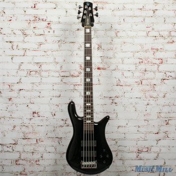 Spector Euro5 LX 5-String Electric Bass Solid Black Gloss, B-stock x4891