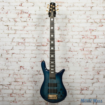 Spector Euro5LT 5-String Electric Bass Blue Fade Gloss, B-stock x5719