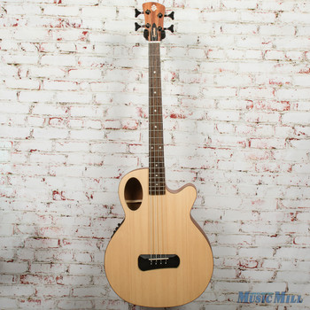 Spector Timbre 4 Jr. Short-Scale Acoustic Bass - Natural, B-stock x0336