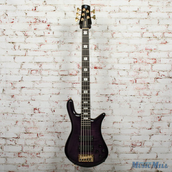 Spector Euro5LT 5-String Electric Bass Violet Fade Gloss, B-Stock x5704