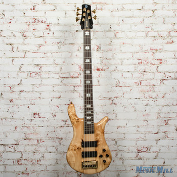 Spector Euro5LX 5-String Electric Bass Poplar Burl Gloss, B-stock x5044