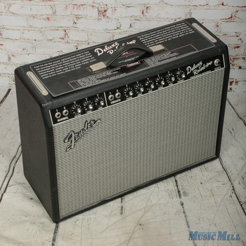 Fender '65 Deluxe Reverb Reissue Amplifier w/Cover & Footswitch (USED)