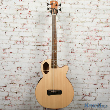 Spector Timbre 4 Jr. Short Scale Acoustic/Electric Bass - Natural, B-stock x0327