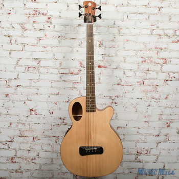 Spector Timbre 4 Jr. Short Scale Acoustic/Electric Bass - Natural, B-stock x0341