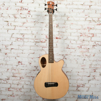 Spector Timbre 4 Jr. Short Scale Acoustic/Electric Bass - Natural, B-stock x0334