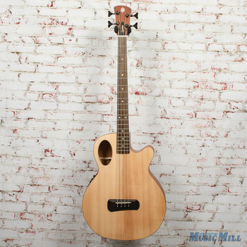 Spector Timbre 4 Jr. Short Scale Acoustic/Electric Bass - Natural, B-stock x00342