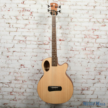Spector Timbre 4 Jr. Short Scale Acoustic/Electric Bass - Natural, B-Stock x0330