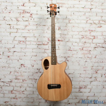 Spector Timbre 4 Jr. Short Scale Acoustic/Electric Bass - Natural, B-stock x0331