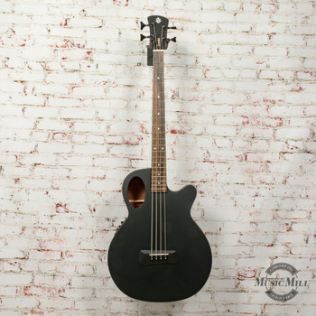 Spector Timbre 4 Jr. Short Scale Acoustic/Electric Bass - Black Matte, B-Stock x0386