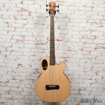 Spector Timbre 4 Jr. Short Scale Acoustic Bass - Natural, B-Stock x0339