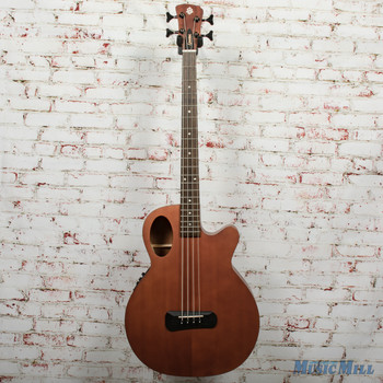 Spector Timbre 4 Jr. Short Scale Acoustic/Electric Bass - Walnut Stain, B-Stock x0371