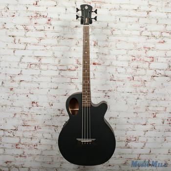 Spector Timbre 4 Jr. Short Scale Acoustic/Electric Bass - Black Matte, B-Stock x0388