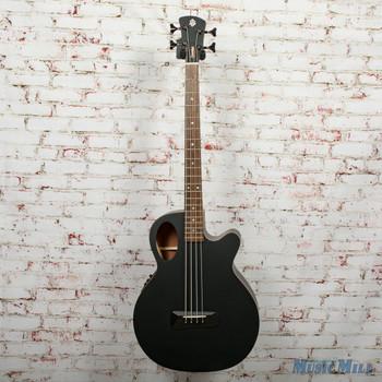 Spector Timbre 4 Jr. Schort Scale Acoustic/Electric Bass - Black Matte, B-Stock x0377