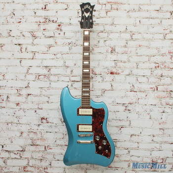 Guild T-Bird ST P90 Pelham Blue Electric Guitar 3791521859 MSRP $1100