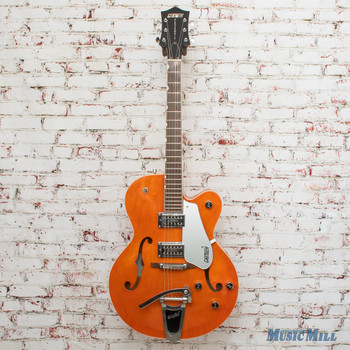 2006 Gretsch G5120 Hollow Body Electric Guitar Orange x3585 (USED)