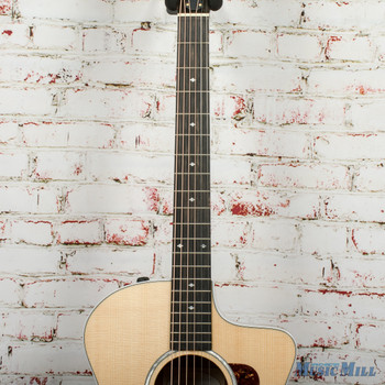 Taylor 214ce BL-LTD Acoustic/Electric Guitar Black Limba/Spruce Natural x0335