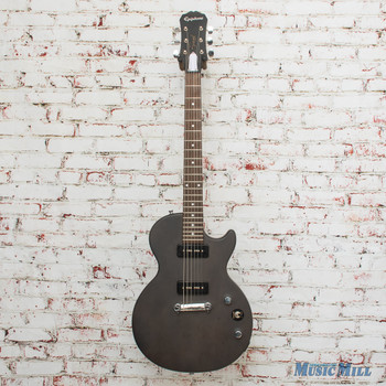 2012 Epiphone Les Paul Special P90's Worn Black x4781 (USED)