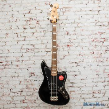 Squier Classic Vibe Jaguar® Bass, Laurel Fingerboard, Black x3683
