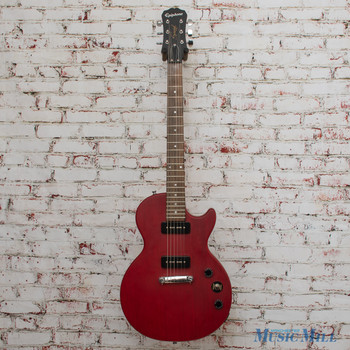 2014 Epiphone Les Paul Special I P90 Electric Guitar  Worn Cherry x6928 (USED)