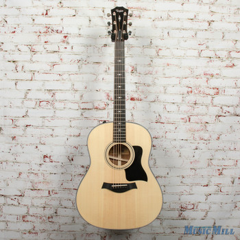 Taylor 317e V-Class Acoustic/Electric Guitar Natural x9068
