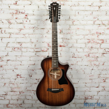 Taylor 362ce V-class Acoustic/Electric 12-String Guitar Shaded Edgeburst x0086