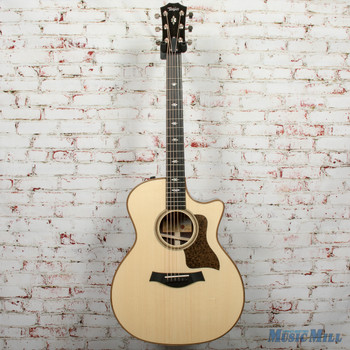 Taylor 714ce V-Class Acoustic/Electric Guitar Natural x0030